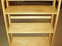 This is a heavy bookcase that will fold up when not in