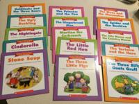 "15 little 5""x5"" Folk and Fairy Tale Easy Readers by"
