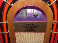 THIS HAND MADE JUKE BOX WAS MADE FOR BOBBY VEE..