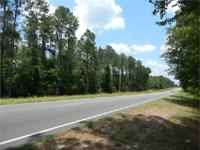 Merchantable pine timber and paved access. Tract can be