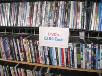 I NEED YOUR DVD COLLECTION... WITH OVER 3000 IN MY