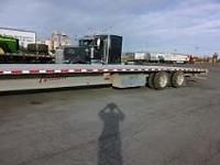 Fontaine Revolution 53' drop deck trailer (in