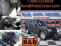 2008 Nissan Xterra SE. Exterior: Night Armor. Price: