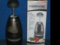 Farberware Food Chopper - NEW IN BOX  According to the