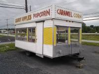 Up for auction is an 8' x 16' concession trailer. The