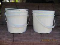 Food grade high quality buckets and lids for $2.50