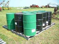 FOR SALE 55 GAL FOOD GRADE STEEL BARRLES WITH LIDS CALL