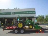 John Deere Tractor Package 3032E - 32 Hp Diesel Loader,