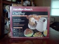 i have a hamilton beach chef prep food processer for