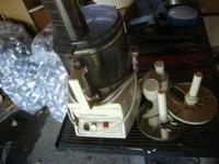 JC PENNEY FOOD PROCESSOR COMPLETE WITH ALL ATTACHMENTS