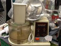 Hamilton Beach food processor. Works fantastic! Clean