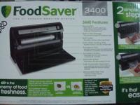 I have for sale a brand new food saver 3400 series. It
