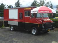 Super sharp looking custom built food trucks made to
