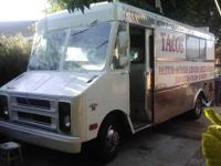 I have a food truck for sale. It is in great condition,