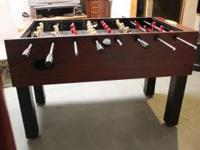 Foos Ball table in good condition. Asking $45 obo.