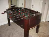 For Sale Foos Ball Table for $75.00. Also have a full