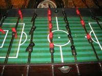 Great looking foosball table Playing field, men and