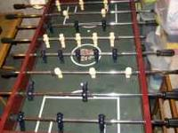 Highland Games Foosball Table, good condition Call Marc