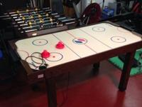I have for sale a Foosball & air hockey table in great