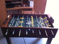 Awesome table works great, needs a little windex!