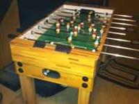 Selling a foosball table in great shape. $100 or best
