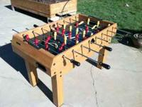 Selling a Harvard Foosball Table, this is a eleven in