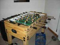 Full size Foosball Table in excellent condition! Asking