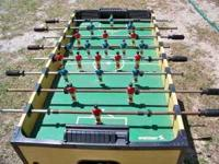 Nice foosball table $ 15 call  Location: Homosassa