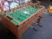 Selling my Goodtime Novelty Inc Foosball table. It is