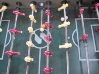 Like new foosball table for sale. Purchased a few years