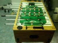 Regulation Foosball Table. Great condition and will