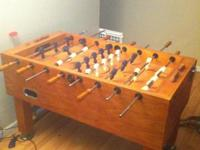 Foosball table in good condition and ready for some