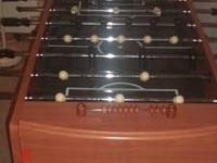 Foosball table great shape H 3' L 4' 1/2 w 2' /12 call