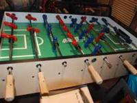 Foosball table in great condition. No damages.