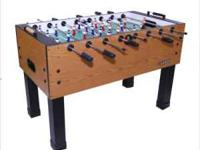 No this is not the actual Foosball table. This is the