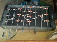Mini Foosball Table. Used very little! $25 (legs are