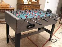 Sportcraft Foosball Table Excellent Condition - Didn't
