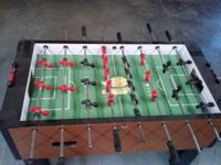 Nice foosball table no time to play anymore  250 Obo!!