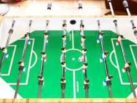 Very good condition full size foosball table for sale.