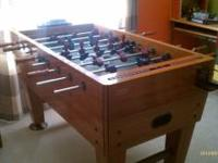 Harvard Foosball Table Excellent, almost new condition