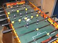 Foosball Table for ages 5-12 years old. Please call