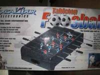 I have a brand new Tabletop Foosball table. I have