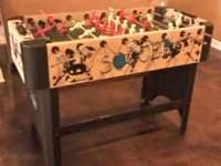Foosball Table-Good Condition cash only text  or email