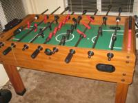 Foosball table for sale. Great condition, it just needs