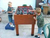 Foosball table asking 50.00 call  Location: lebanon
