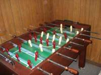 FOOSBALL TABLE - $50.00 27inches wide by 54inches long