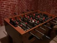 Sportcraft foosball table for sale. Call Jordan at