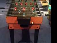 10 in one gaming table. It includes bowling, ping pong