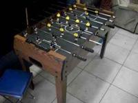 Get the kids away from the TV with this Foosball table