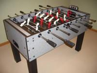 Very Nice Foosball Table. Will help with delivery. Call